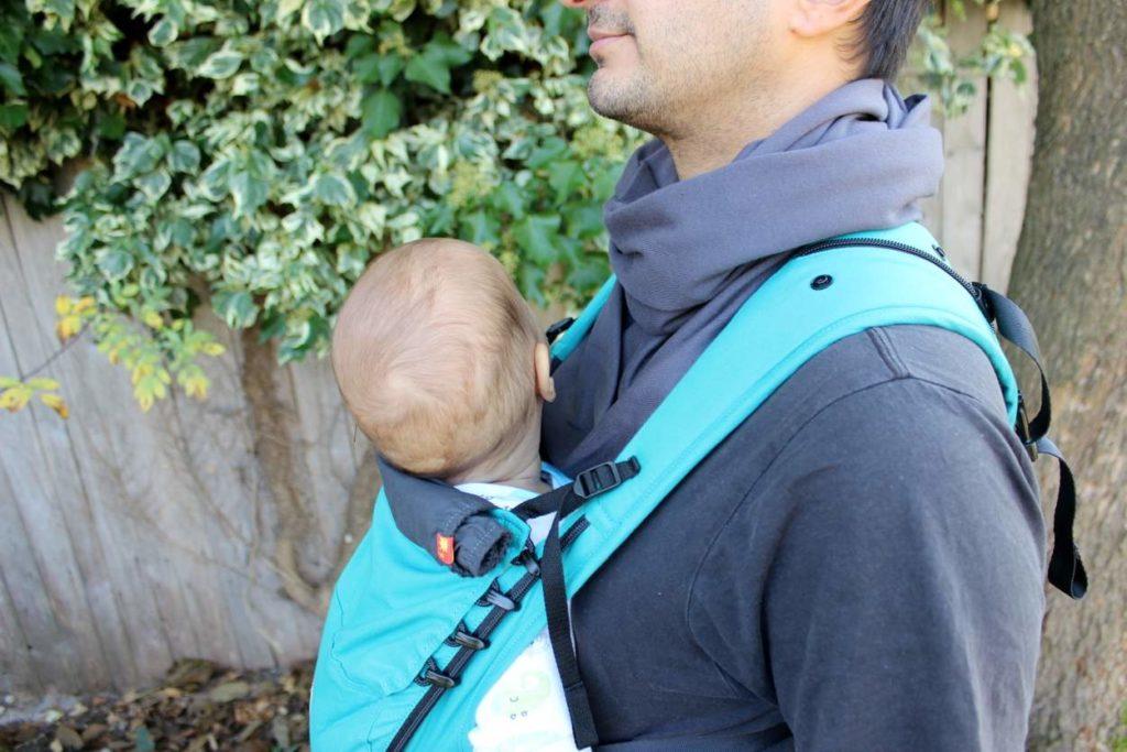 Passender Schal bzw. Loop für Ruckel Kindertrage